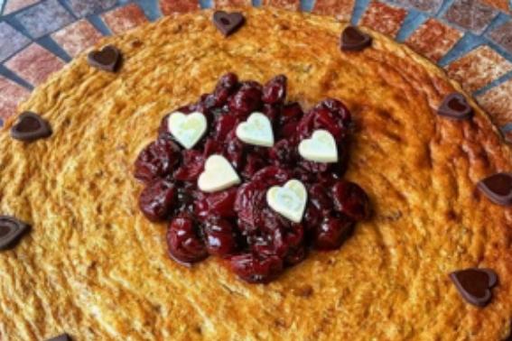 proteinli-cheesecake